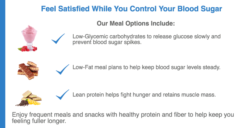 Diabetic meal options